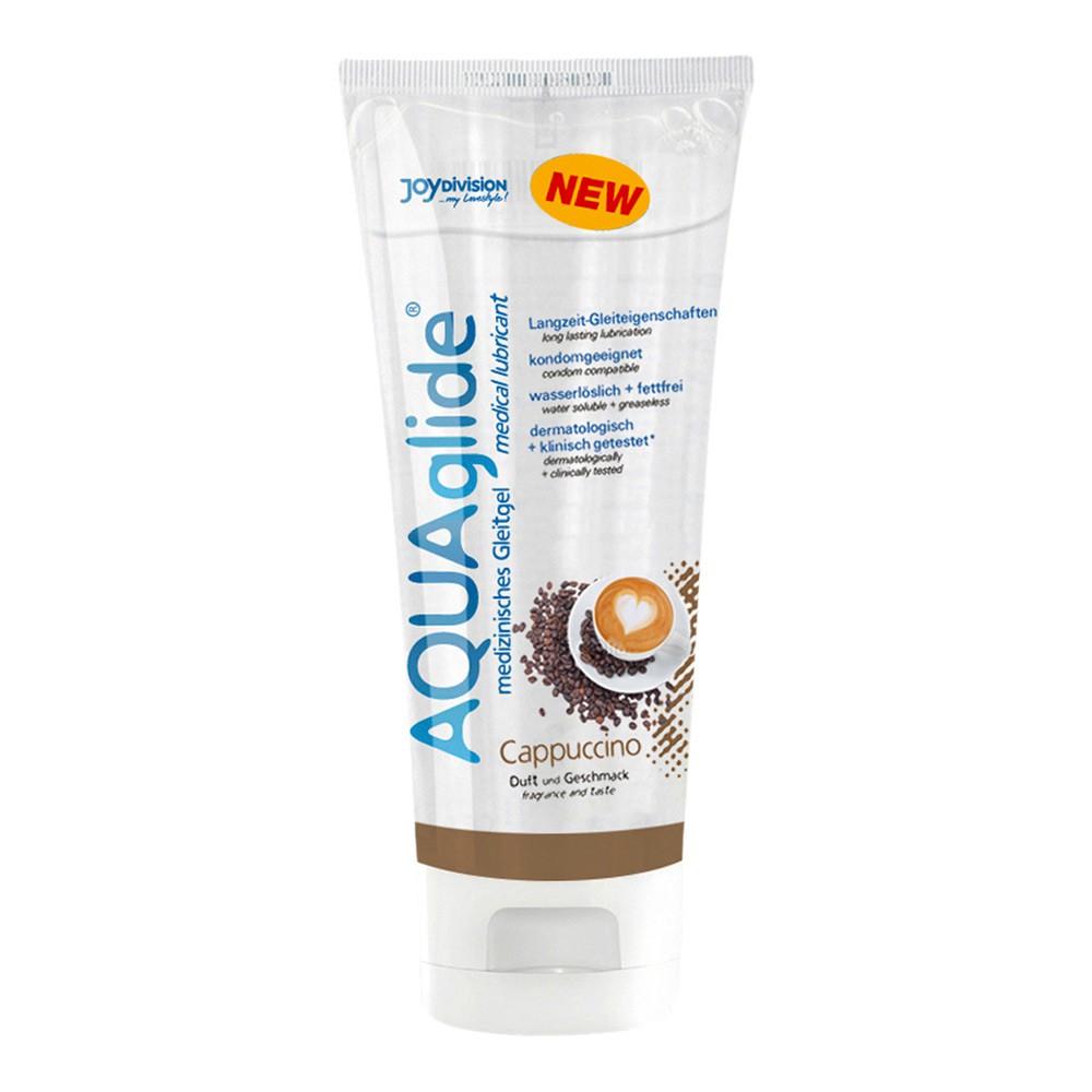 Aquaglide Gleitgel mit Geschmack - cappuccino