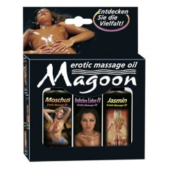 Magoon Indian - Massage-Öl Set