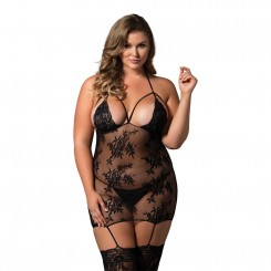 LEG AVENUE CAGE BODYSTOCKING