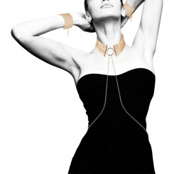 Bijoux Indiscrets - Désir Métallique Collar Gold
