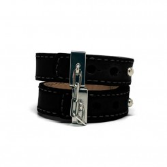 Crave Leather Cuff Bracelet