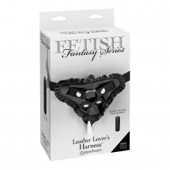 Fetish Fantasy Series Leather Lover's Harness – M. Vibrator