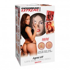 Pipedream Extreme Agent 69 Love Doll