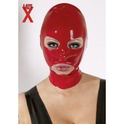 Rote Latex Maske