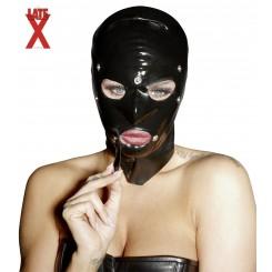 Schwarze Latex Maske