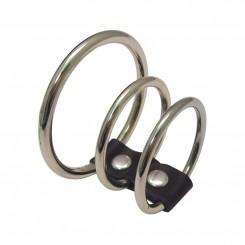 Sex & Mischief - Penisring mit 3 Ringen