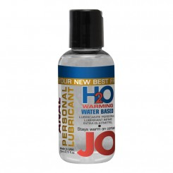 System JO Anal H2O Water Based Lubricant Warming
