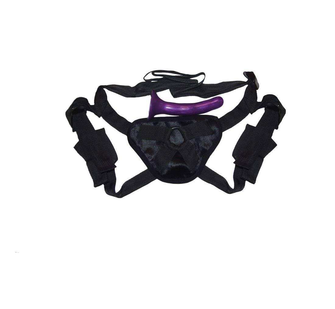 Sex & Mischief - Harness mit Dildo