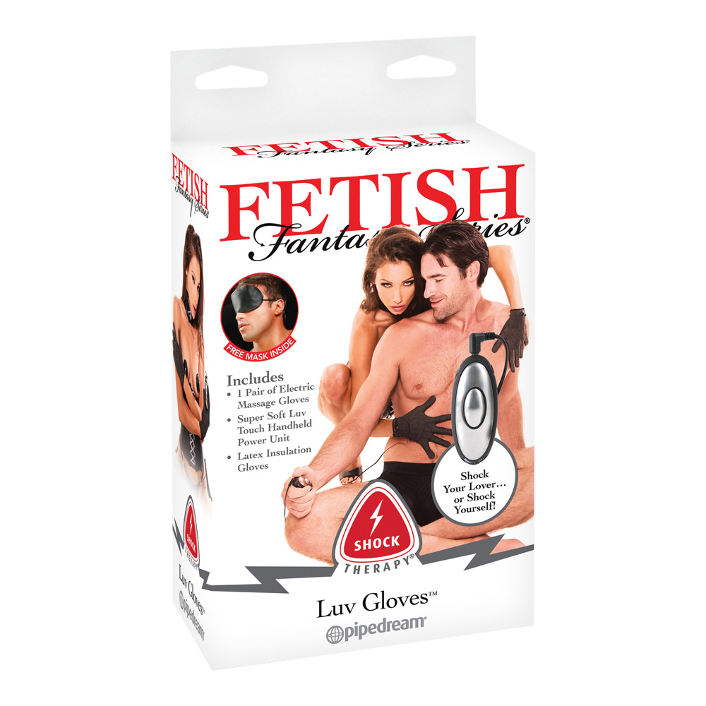 Fetish Fantasy Series - Shock Therapy Luv Gloves – Elektro-Sex Handschuhe