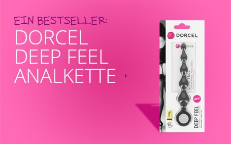 Dorcel deep feel analkette