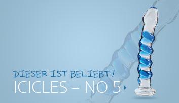 ICICLES – NO. 5 Glasdildo