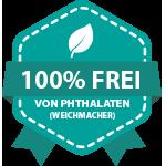 100% frei von Weichmachern